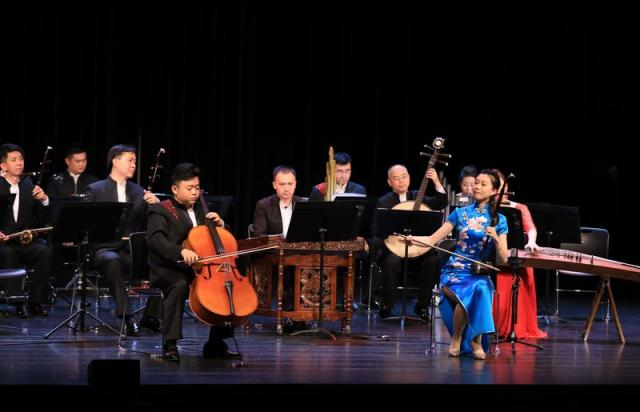 Concert by China National Traditional Orchestra staged in Belgium