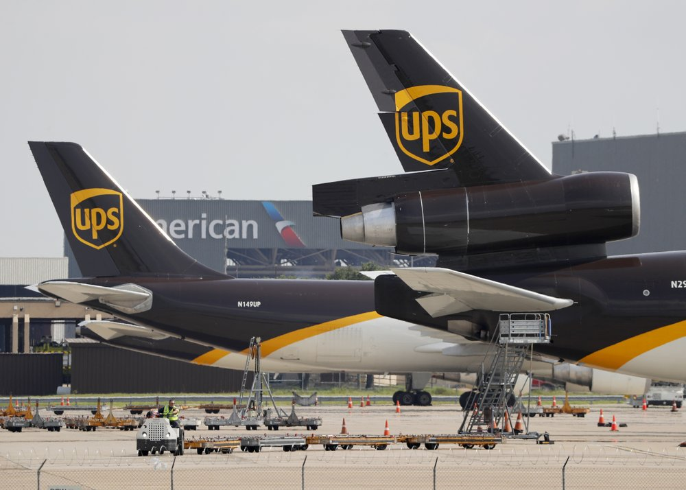Demand for fast, online delivery drives UPS 3Q