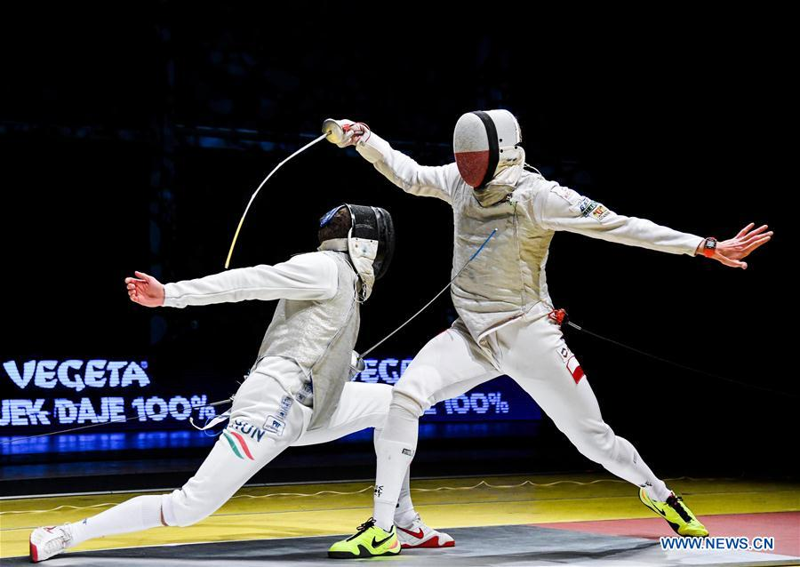 Highlights of FIE Fencing Tournament