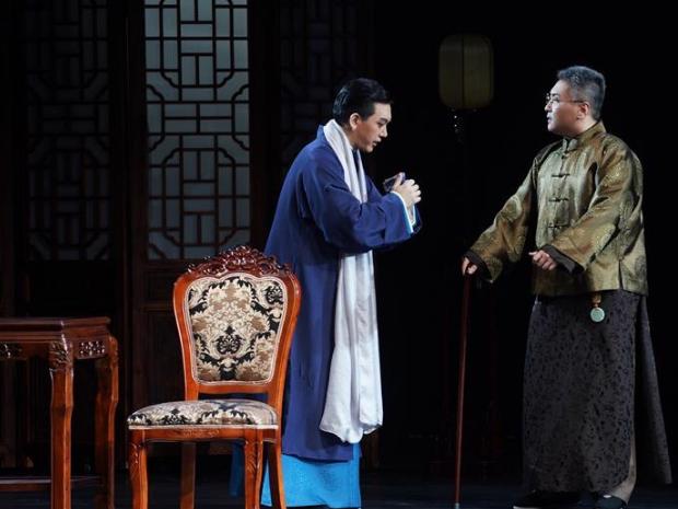 Modern Peking opera show depicting story of Mei Lanfang held in Nanjing