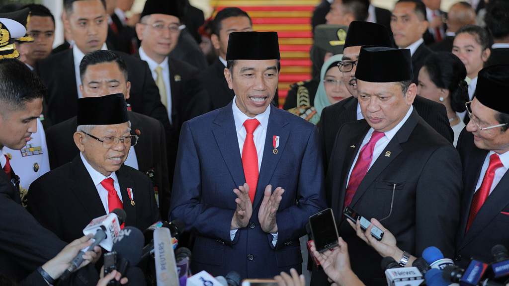 Indonesia announces new cabinet, taps opposition, startup founder