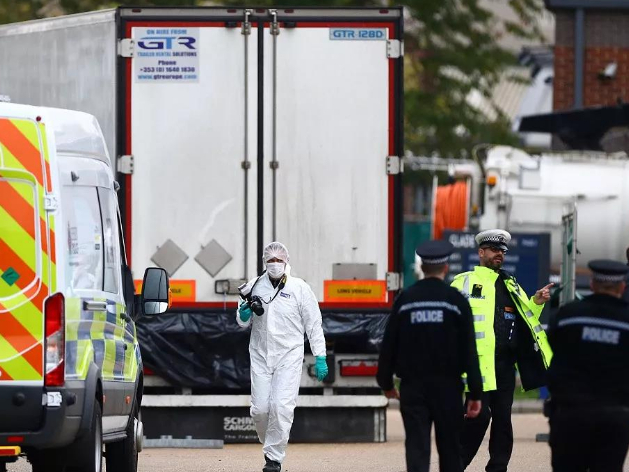 Bodies found in UK truck confirmed as Chinese nationals