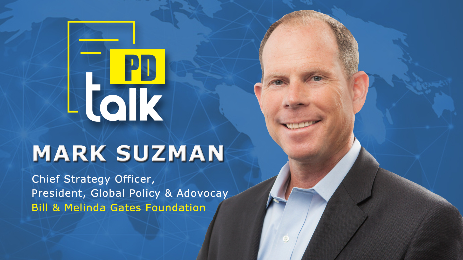 PD Talk | Progress is possible, even with inequality: Mark Suzman