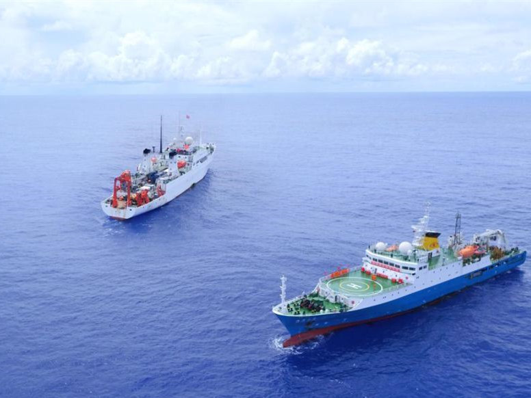 Research vessel Haiyang 6 completes mission 2019