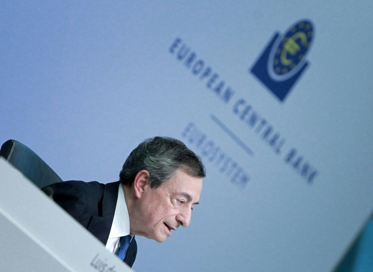 'Never give up': Draghi sums up hard-fought ECB term