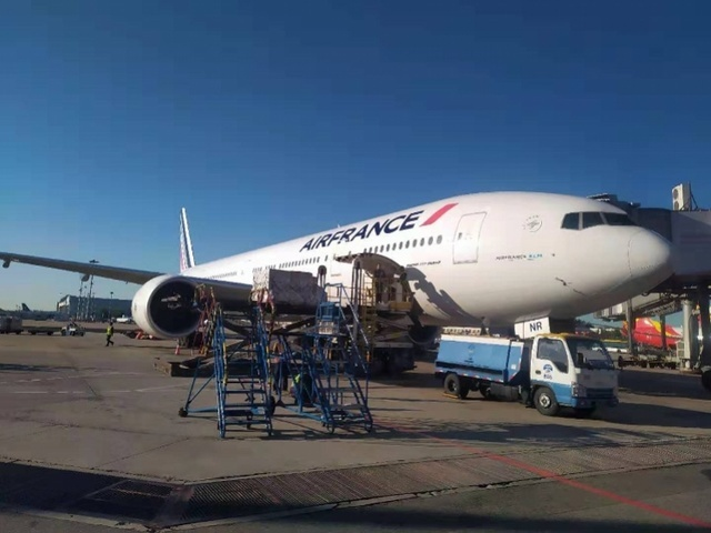 Air France flight forced to land in Beijing for unknown emergency
