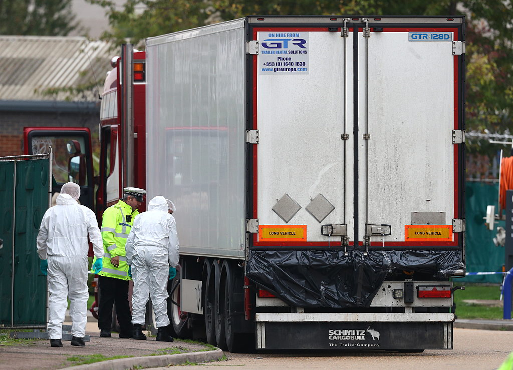 British police arrest two more people over truck deaths