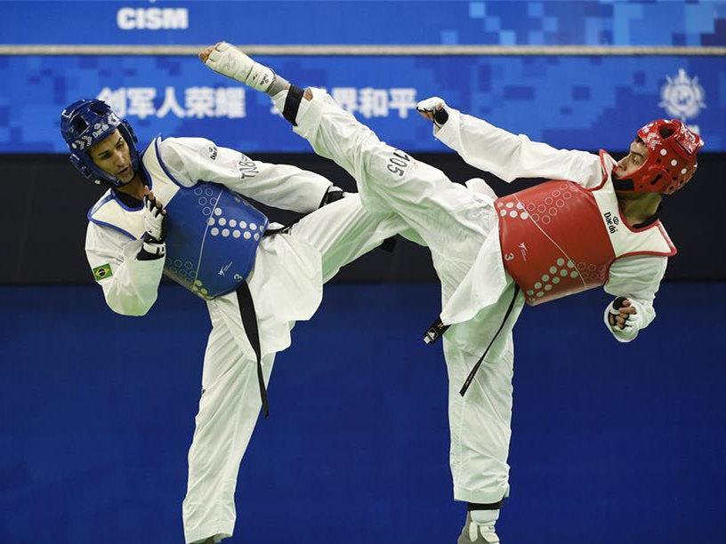 Highlights of taekwondo finals at 7th Military World Games