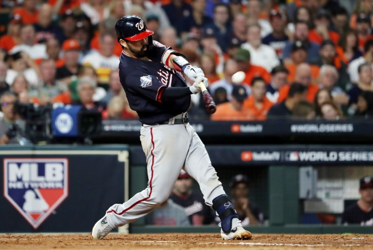 Nationals rout Astros to take command of World Series