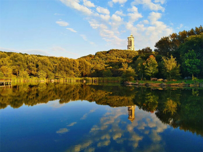 Jilin's 'green sea' perfect spot for autumn views