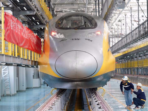 Automatic high-speed railway to open soon