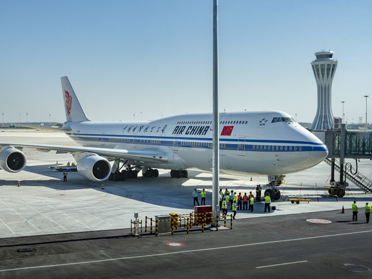 14 more airlines set up at Beijing's new airport