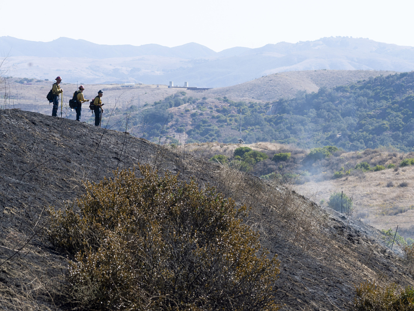 Millions in California facing fire danger, more blackouts