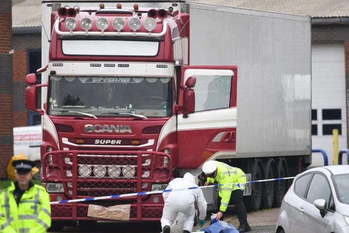 Vietnamese may be among UK truck victims