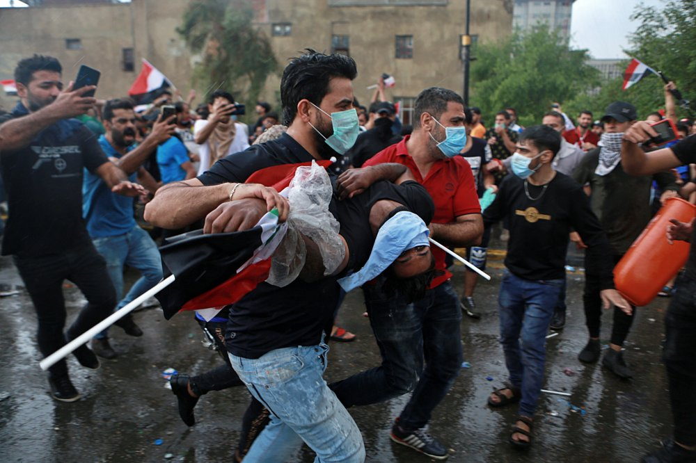24 killed, over 2,000 wounded in Iraqi protests