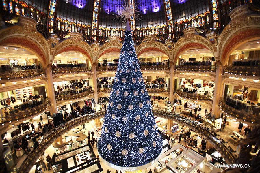 High-end French retailer Galeries Lafayette opens second Chinese store in Shanghai