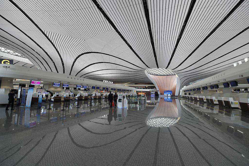 New Beijing airport open to international flights