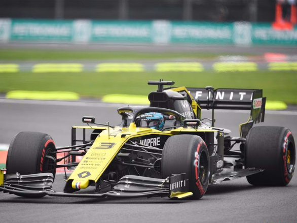 2nd practice session of Formula One Mexico Grand Prix