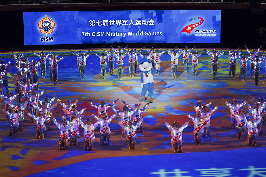 China, first to grab 100 plus golds as Military World Games end