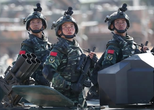 Chinese armed police start anti-terrorism training