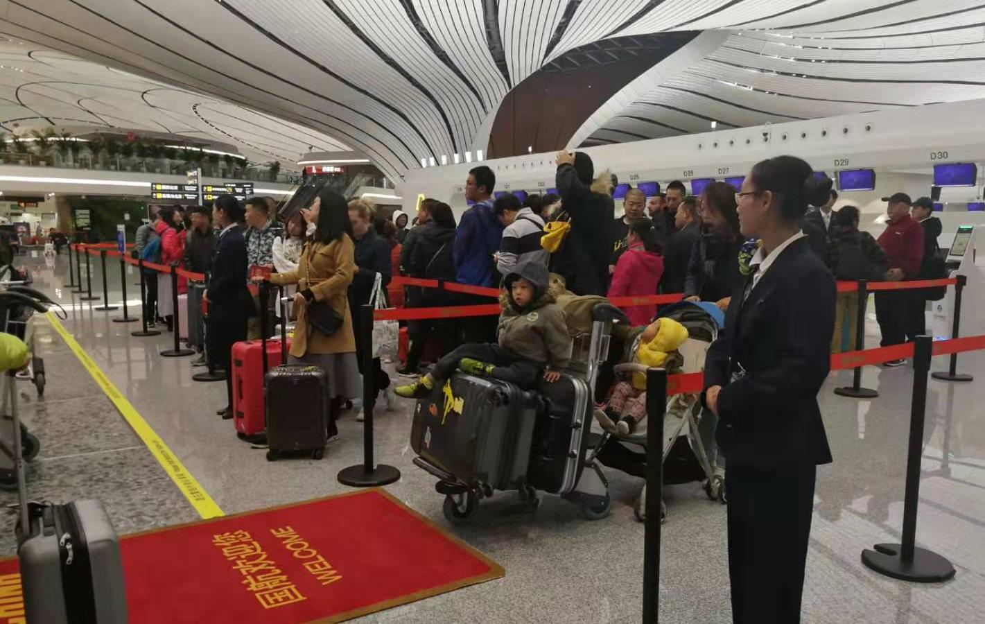 First intl flight takes off from Beijing's Daxing airport
