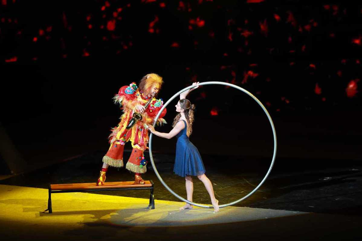 Acrobatic competitions begins in Hebei