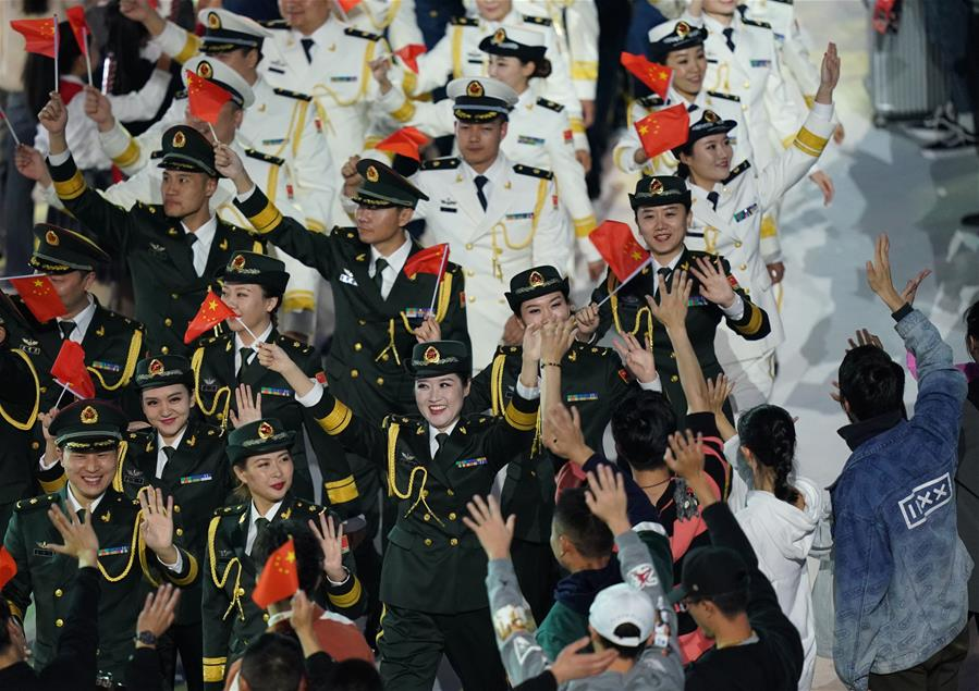 Military World Games of 'historic' and 'peace' close in Wuhan