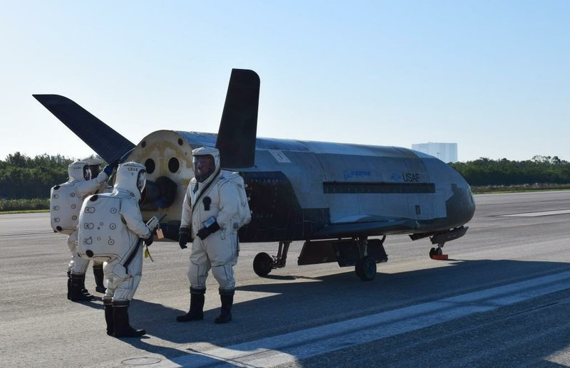 US military's X-37B space plane lands after 780-day secret in-orbit mission