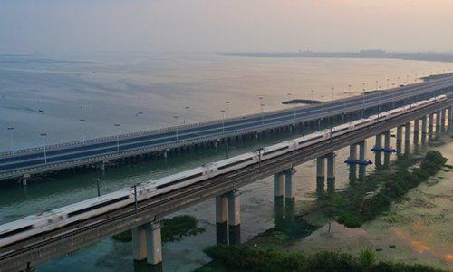 Beijing-Shanghai high-speed railway outstrips industry
