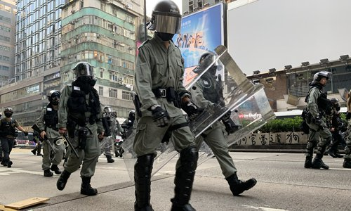 HK police to rehire 1,000 retired officers amid unrest