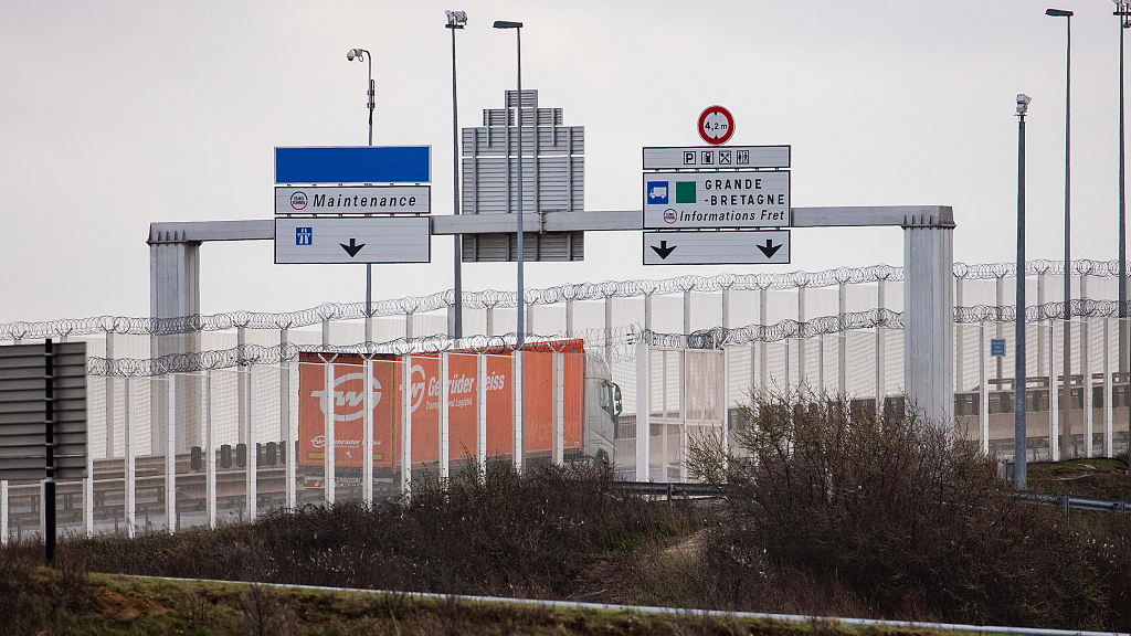 Eight migrants found in refrigerated lorry in France