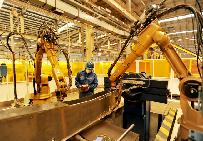 China seeks strengthening manufacturing design abilities
