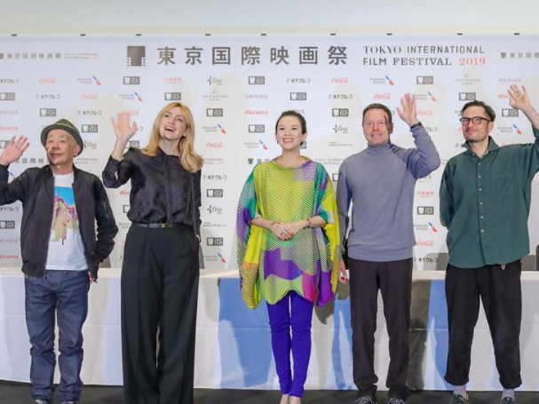 Jury members attend press conference for 32nd Tokyo Int'l Film Festival