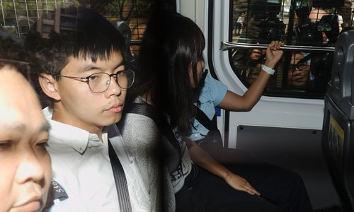 Joshua Wong Chi-fung barred from running in HK district council election
