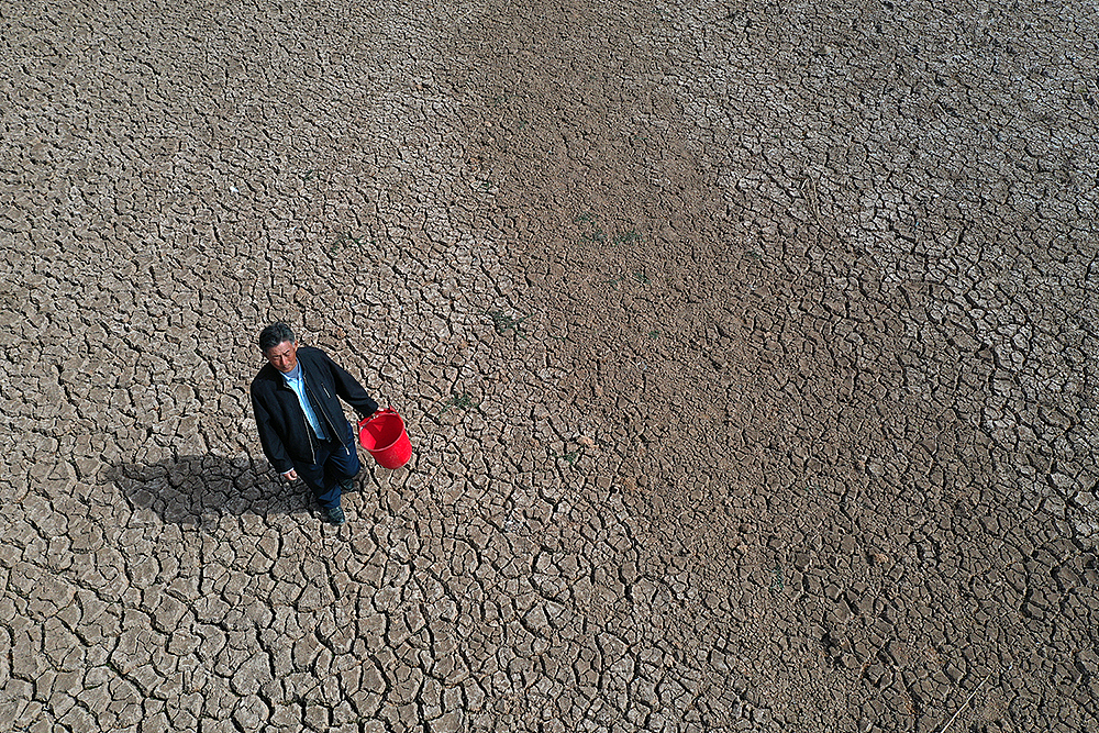 Severe drought hit East China