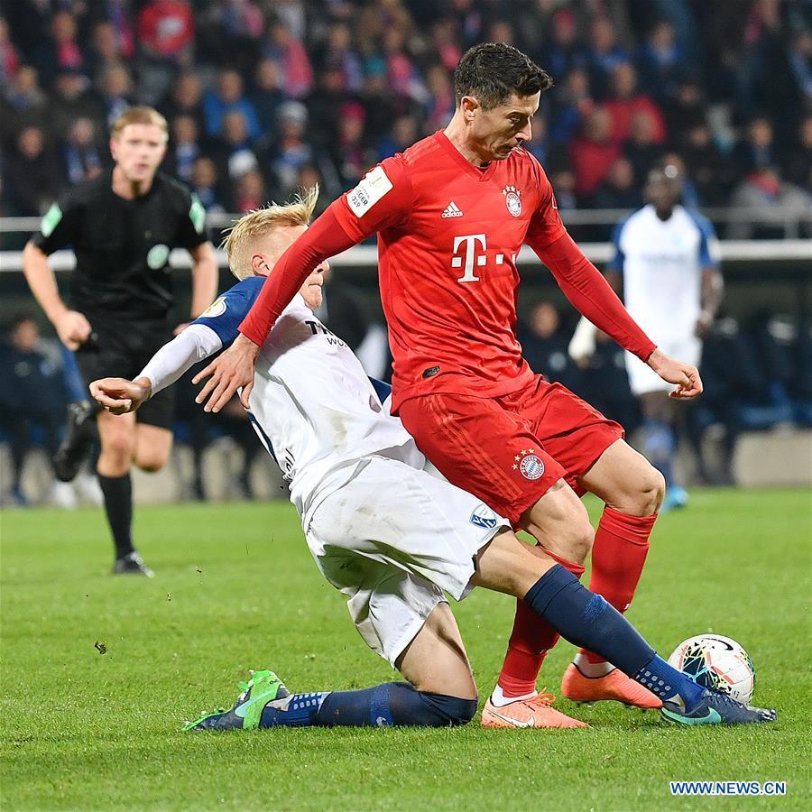 German Cup second round match: FC Bayern Munich vs. Vfl Bochum