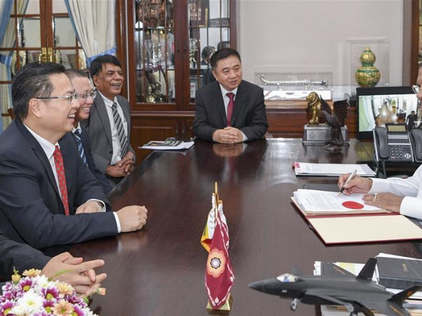 Colombo Port City land officially vested in UDA