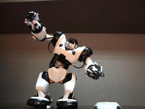 World of Robots 2.0 exhibition held in Bishkek, Kyrgyzstan