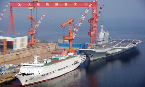 China's second aircraft carrier prepares for commissioning ceremony: report