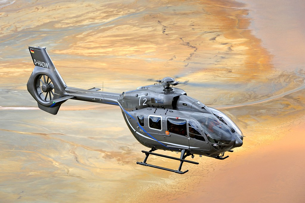 Helicopter firms wait for 'wind power'