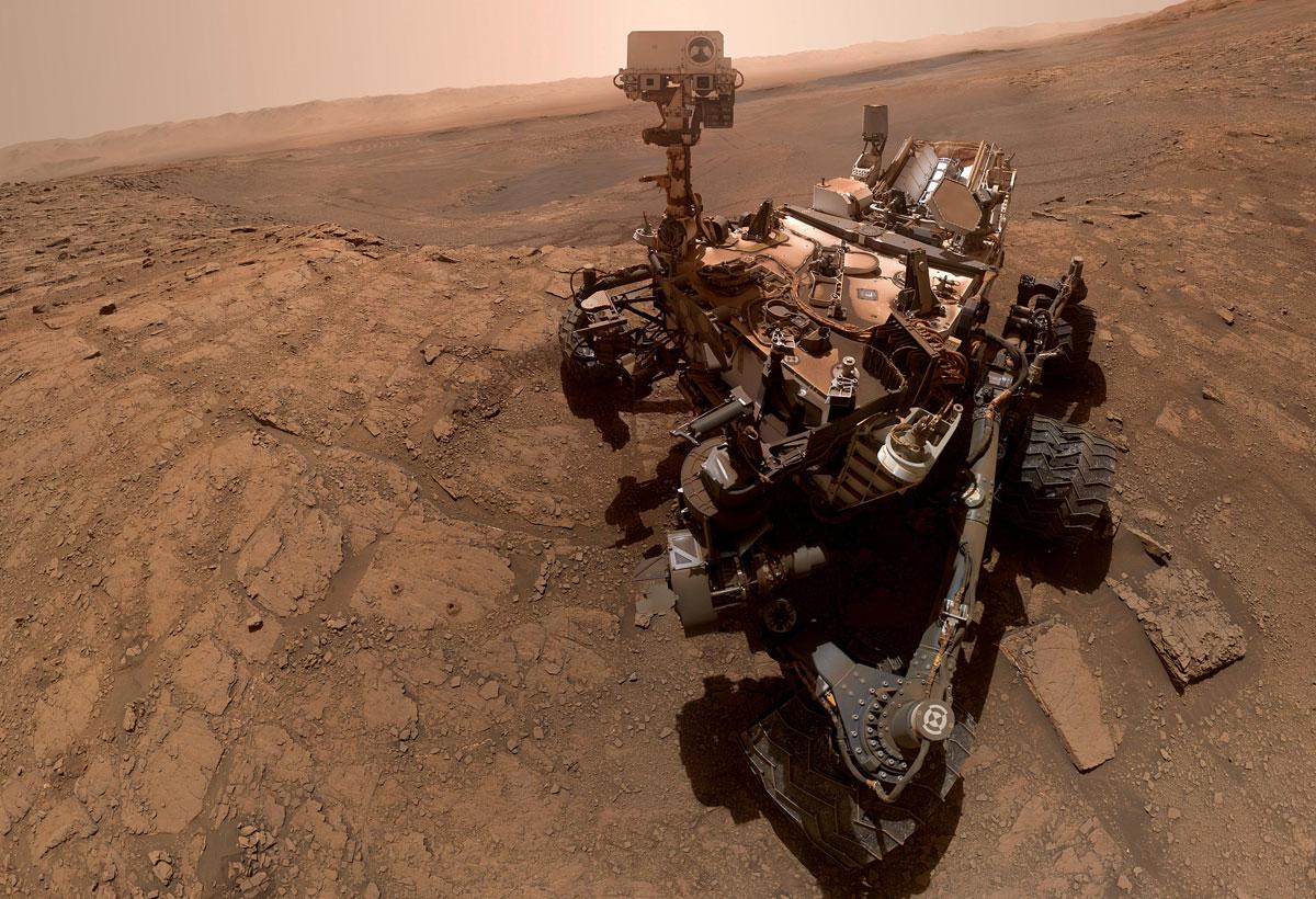 NASA releases selfie taken by its Mars Curiosity rover