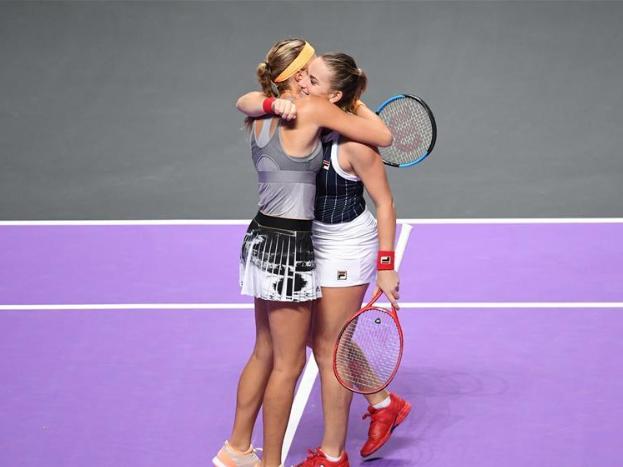 Highlights of WTA Finals Tennis Tournament