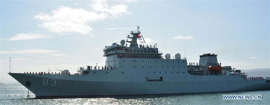 Chinese naval ship finishes its visit to New Zealand