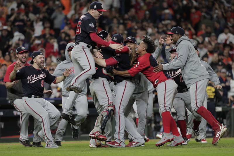 Nationals top Astros in Game 7 to win 1st World Series title