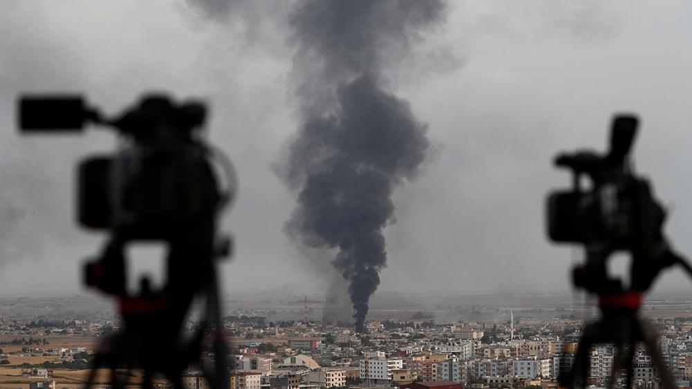 Syrian army, Turkish forces clash near border