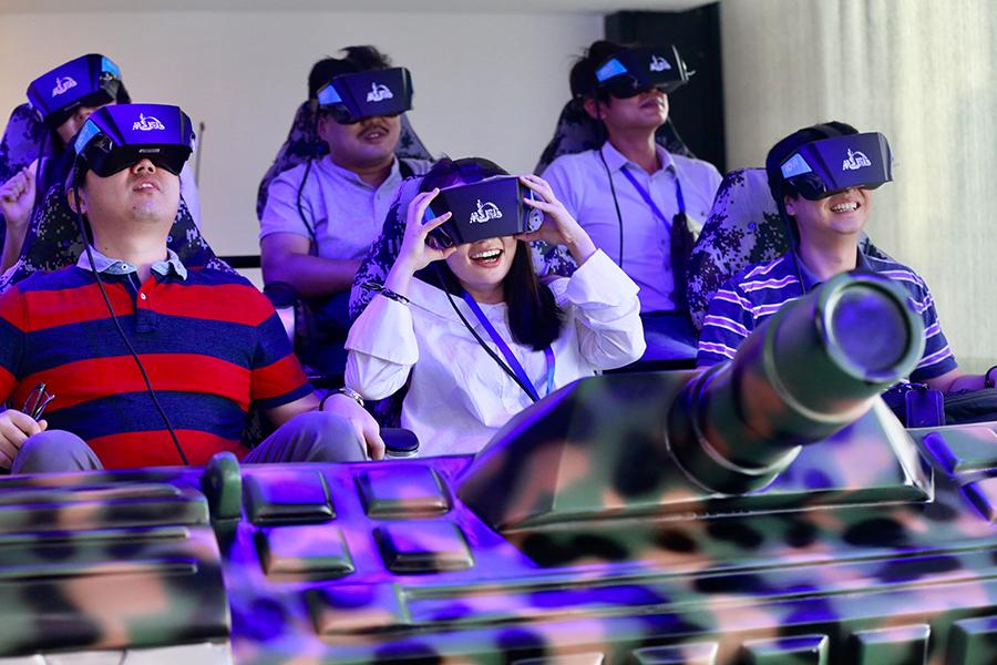 Virtual reality major gets boost in Jiangxi