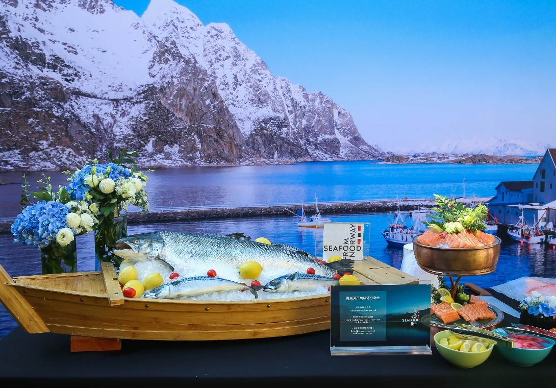 Norwegian seafood exports to China up 14 percent this year