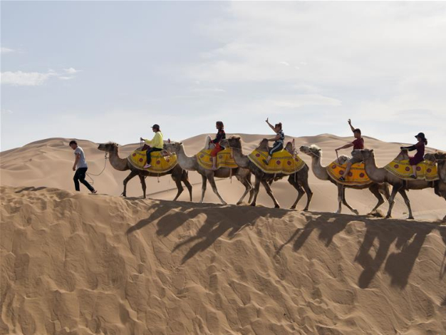 Two desert destinations in Xinjiang listed as China's most beautiful deserts