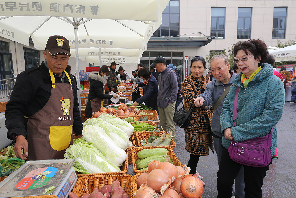 China Shouguang vegetable price index down 0.29 pct