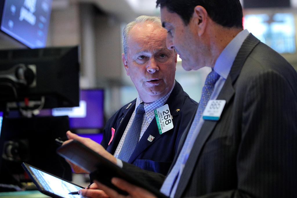 US stocks open higher amid jobs data